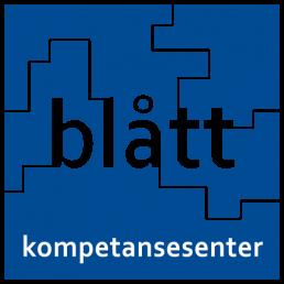 Logo blått kompetansesenter