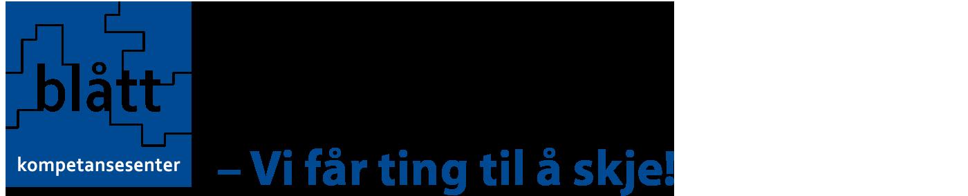 Blått Kompetansesenter logo